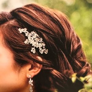Hair piece - wedding, prom, special occasion